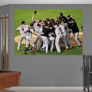 San Francisco Giants World Series Celebration Mural Fathead Wall Decal