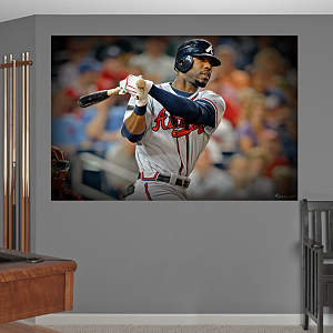 Jason Heyward Mural Fathead Wall Decal