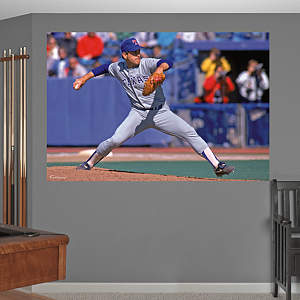 Nolan Ryan Rangers Mural Fathead Wall Decal