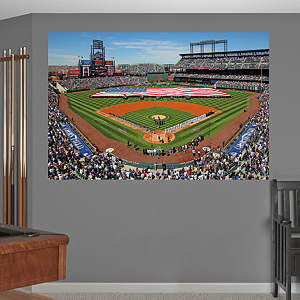 Inside Coors Field Mural Fathead Wall Decal