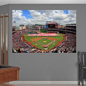 Inside Nationals Park Mural Fathead Wall Decal