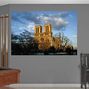 Notre Dame Cathedral Mural Fathead Wall Decal