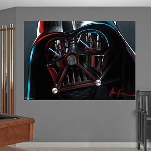 Vader™ Helmet Mural Fathead Wall Decal