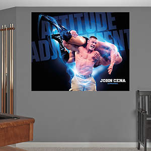 John Cena - Attitude Adjustment Mural Fathead Wall Decal