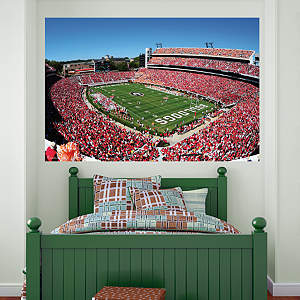 Georgia Bulldogs - Sanford Stadium Mural Fathead Wall Decal