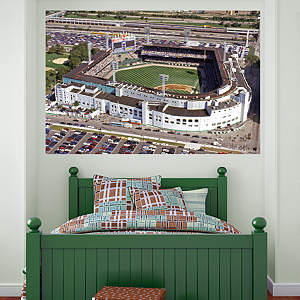 Comiskey Park Aerial Mural Fathead Wall Decal