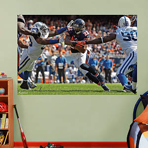Matt Forte In Your Face Mural Fathead Wall Decal
