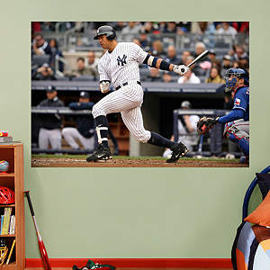 Alex Rodriguez Mural Fathead Wall Decal
