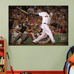 David Ortiz Mural Fathead Wall Decal