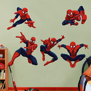 Ultimate Spider-Man Collection Fathead Wall Decal