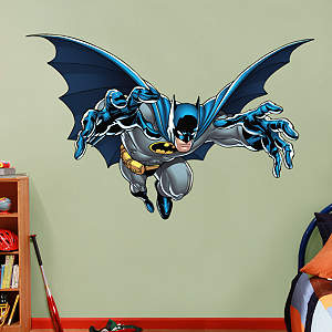 Batman - Leaping Fathead Wall Decal