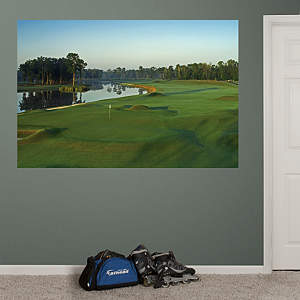 PGA TOUR TPC Louisiana Hole 18 Mural Fathead Wall Decal