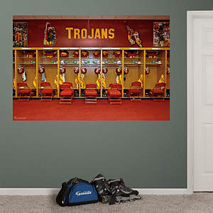 USC Trojans Locker Room Mural Fathead Wall Decal