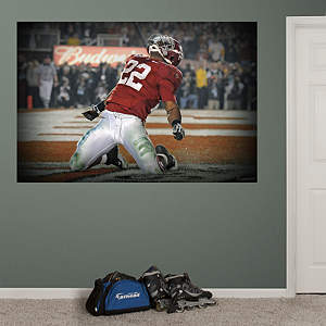 Mark Ingram Alabama Mural Fathead Wall Decal