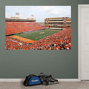 Oklahoma State - Boone Pickens Stadium Mural Fathead Wall Decal