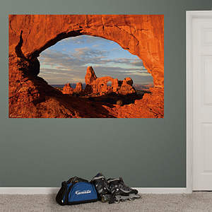 Arches National Park Mural Fathead Wall Decal