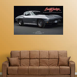 The Last Corvette Sting Ray Fathead Wall Decal