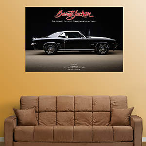 1969 Camaro Z28 Fathead Wall Decal