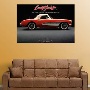 1957 Corvette FI Fathead Wall Decal