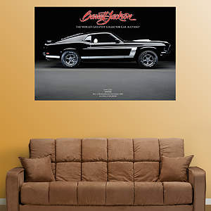 1969 Mustang Boss 302 Fathead Wall Decal