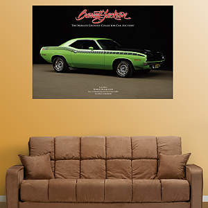 1970 Plymouth 'Cuda AAR Fathead Wall Decal