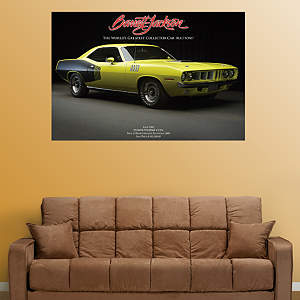 1971 Plymouth Hemi 'Cuda Fathead Wall Decal