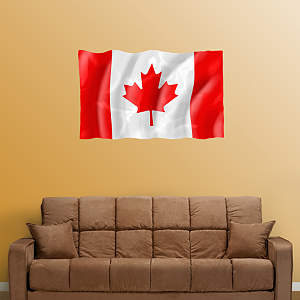 Flag of Canada Fathead Wall Decal