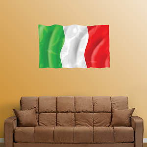 Flag of Italy Fathead Wall Decal