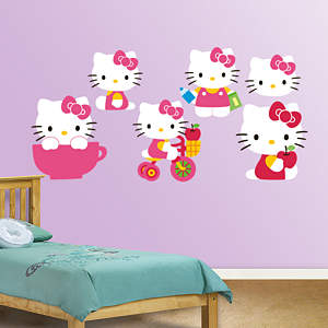 Hello Kitty Collection Fathead Wall Decal