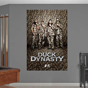 Duck Dynasty Mural Fathead Wall Decal