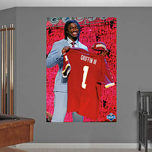 Robert Griffin III Draft Day Mural  Fathead Wall Decal