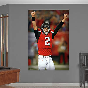 Matt Ryan Celebration Mural Fathead Wall Decal