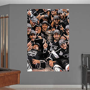 Los Angeles Kings Team Stanley Cup Mural  Fathead Wall Decal