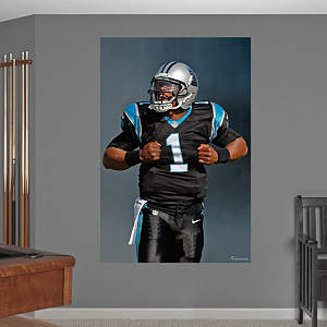 Cam Newton Superman Mural Fathead Wall Decal