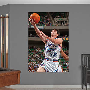 John Stockton Mural Fathead Wall Decal