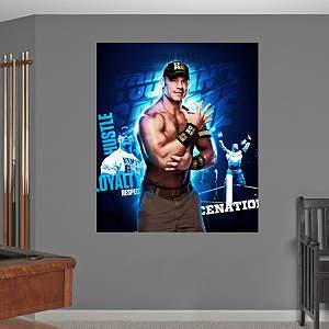 John Cena Montage Mural Fathead Wall Decal