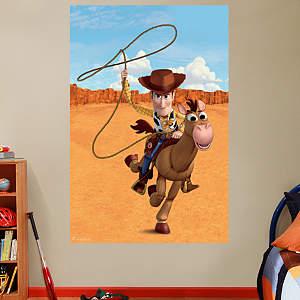 Woody & Bullseye Mural Fathead Wall Decal