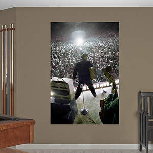Elvis Presley Live on Stage Mural Fathead Wall Decal
