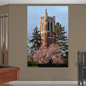 Michigan State - Beaumont Tower Mural Fathead Wall Decal