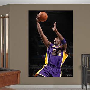 Kobe Bryant Drive Mural Fathead Wall Decal