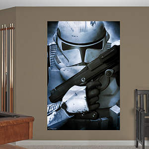 Clone Trooper™ Mural Fathead Wall Decal