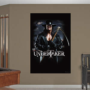 Undertaker Sickle Mural Fathead Wall Decal