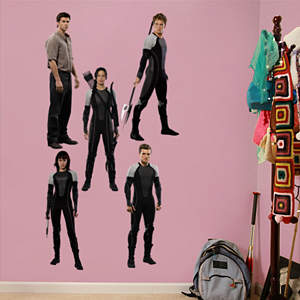 The Hunger Games: Catching Fire Collection Fathead Wall Decal