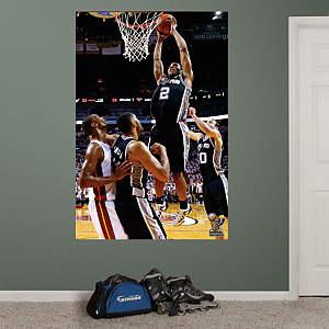 Kawhi Leonard 2014 NBA Finals Dunk Mural Fathead Wall Decal