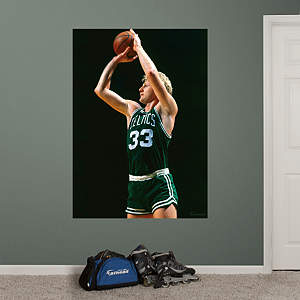 Larry Bird Mural Fathead Wall Decal
