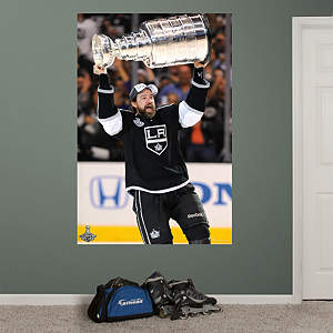 Justin Williams Stanley Cup Hoist Mural Fathead Wall Decal