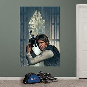Han Solo™ Mural Fathead Wall Decal