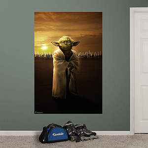 Yoda™ & Jedi™ Knights Mural Fathead Wall Decal
