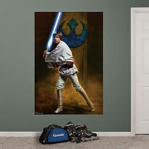 Luke Skywalker™ Mural Fathead Wall Decal