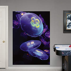 Jellyfish Mural Fathead Wall Decal
